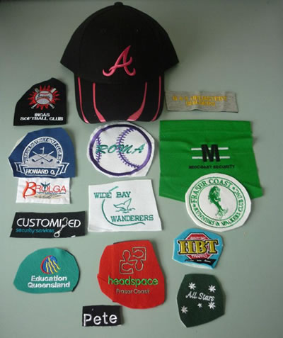 See Bev about your embroidery needs